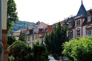 Häuser in Heidelberg